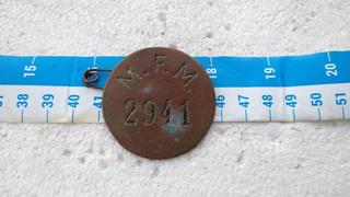 Emblema Insignia Distintivo Antiguo Placa Ferrocarril #9