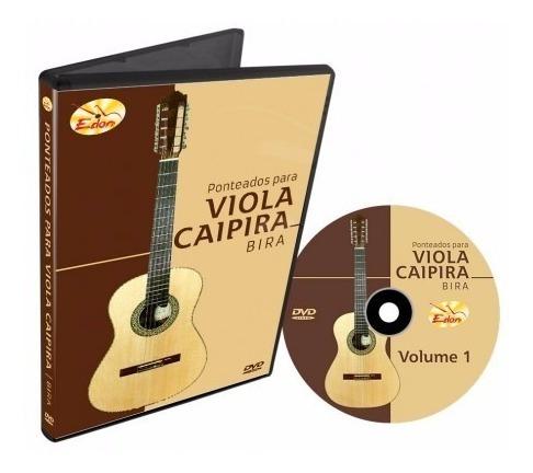 Curso Pont. Viola Caipira Caipira Volume 1 Dvd