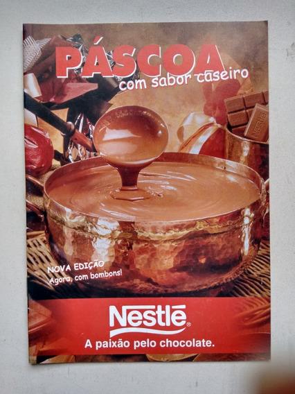Livrete Nestlé Chocolate Como Fazer Ovos De Páscoa C863