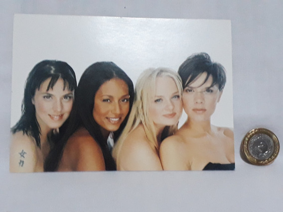 Foto Postal Spice Girls 10x15 No Envío