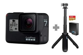 Kit Gopro Hero 7 Black + Micro 32gb + Bateria + Selfie
