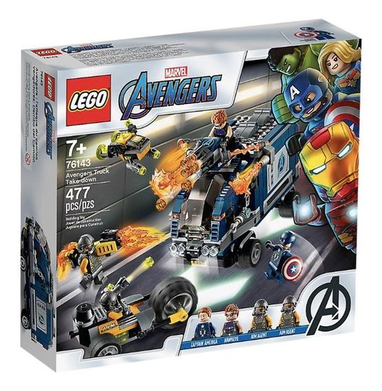 Lego Avengers Derribo Del Camión 76143 Tienda Oficial