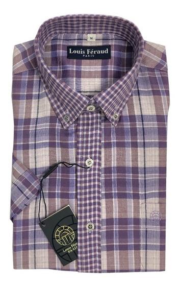 Camisas De Cuadros Louis Feraud Manga Corta 102236