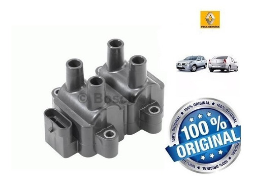 Imagem 1 de 1 de Bobina De Ignicao Renault Logan E Sandero 1.6 8v Flex Orig