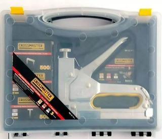 Engrapadora Industrial Caja Plástica Crossmaster 3 Funciones