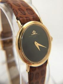 Relógio Baume Mercier Ouro 18k Maciço - 13 Anos No M. Livre