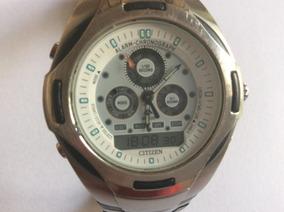 Lindão Relógio Citzen, 40 Mm., Resistente A 100 M. Na Água