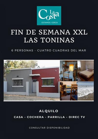 Alquilo Las Toninas 6 Pers