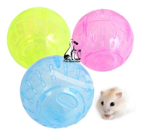 Esfera Hamster Cuis Coballo 30 Cm Globo Plástico Colores