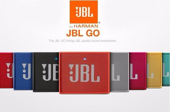 Jbl Go 3w Caixa De Som Speaker Bluetooth Original Nf-e