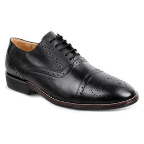 Sapato Masculino Oxford Sandro Moscoloni New Barrett Preto