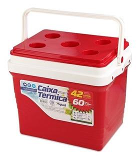 Caixa Térmica Vermelha Xplastt