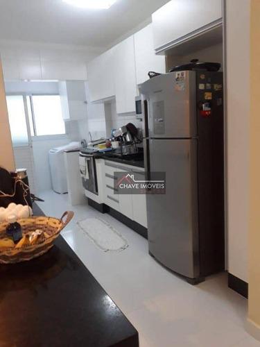 Apartamento À Venda, 94 M² Por R$ 420.000,00 - Ocian - Praia Grande/sp - Ap2589