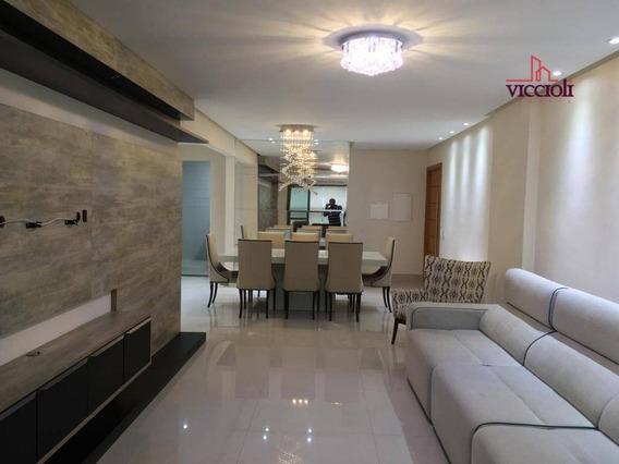 Apartamento Com 3 Dormitórios À Venda, 181 M² Por R$ 1.280.000 - Canto Do Forte - Praia Grande/sp - Ap1647