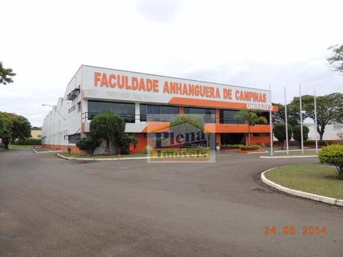 Galpão  Industrial Para Venda E Locação, Parque Via Norte, Campinas. - Ga0039