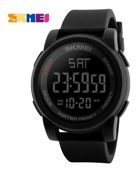 Relógio Preto Masculino Esportivo Digital Skmei 1257