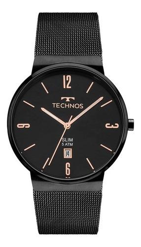 Imagem 1 de 3 de Relógio De Pulso Feminino Technos Classic Slim
