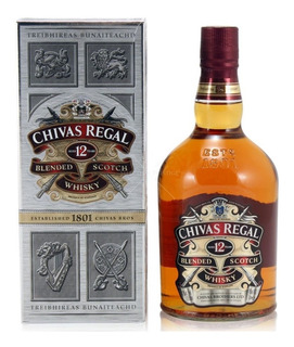 Whisky Chivas Regal 12 Años Litro