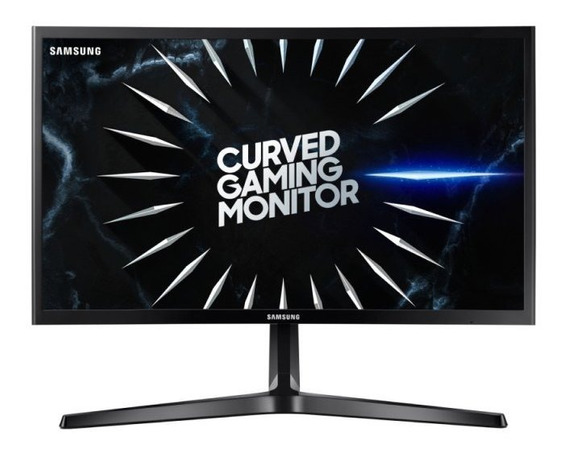 Monitor Gamer Curvo Samsung 24 Lc24rg50fqlmzd 4ms 144hz Free
