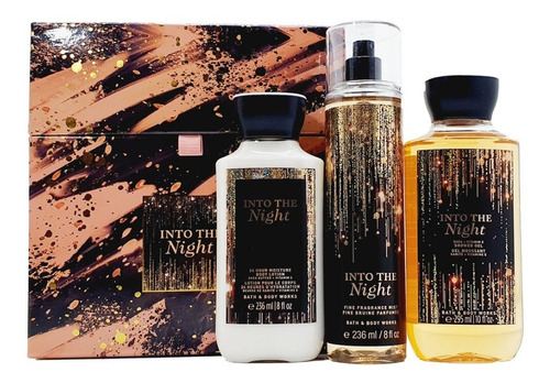 Into The Night Bath & Body Works Kit De Regalo