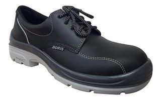 Zapato Boris 3161 X Puntera De Acero Seguridad Dielectrico