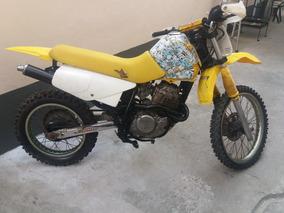 Moto Honda Xr 350 Cc Trilha Com Motor De Saara