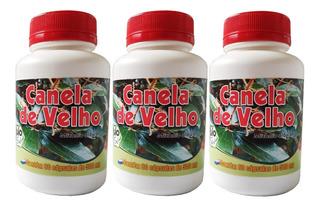3 Frascos De Canela Do Velho 60 Cápsulas / 500mg Bio Fresh