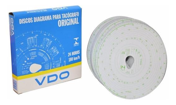 Disco Tacógrafo 180km Diario 24 Horas - Vdo ( 5 Caixas )
