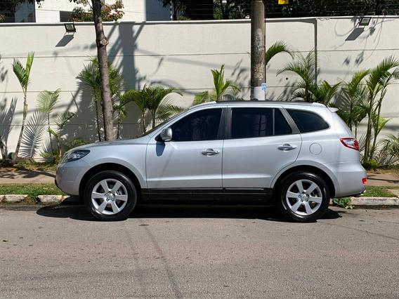 Hyundai Santa Fé 2010 Prata, Motor V6 2.7l 4wd (impecável)