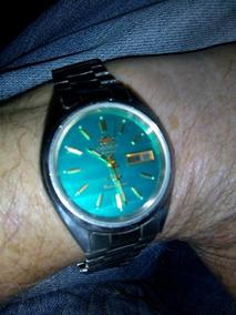 Relógio Orient, Masculino, Mostrador Degradê Verde