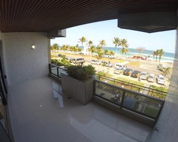Barra Da Tijuca, 04 Suites Mobiliado, Frente Mar, Posto 3, Reformado, Lindo!! - Ap-bt-002