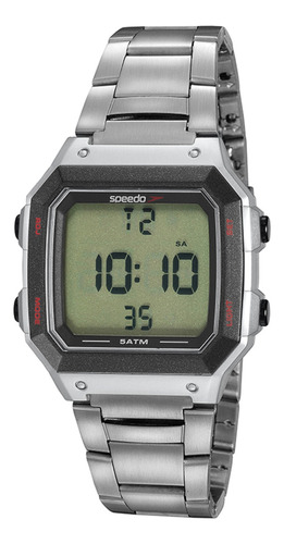 Relogio Digital Masculino Quadrado Speedo 11022g0evny2