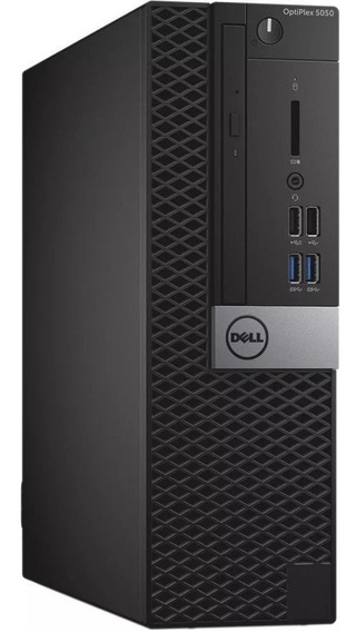 Dell Optiplex 7050sff I7 16gb Hd Ssd M.2 256gb Pl. Víd 2gb