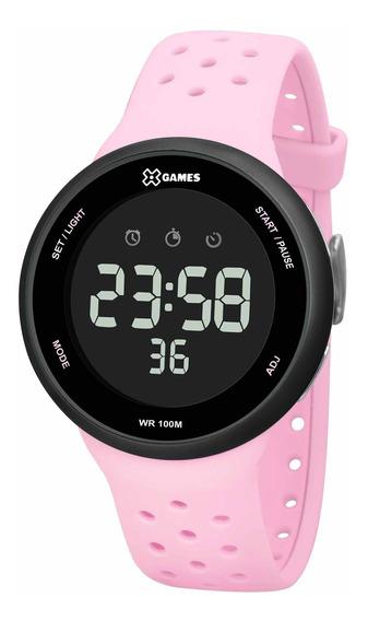Relógio X Games Feminino Xfppd060 Pxrx Rosa - Refinado