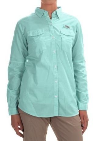Camisa Columbia Original Como Nueva Para Damas M