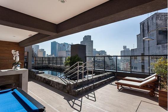 Cobertura Em Centro, São Paulo/sp De 114m² 3 Quartos À Venda Por R$ 990.000,00 - Co287623