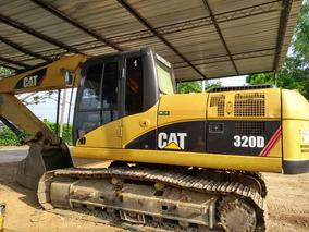 Retroexcavadora 320d Caterpillar