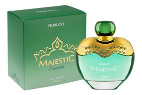 Nova Deo Colônia Majestic Esmeralda 90ml Fiorucci Lançamento