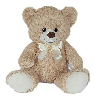 Urso De Pelúcia 46cm Bege