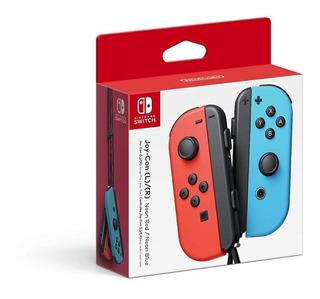 ..:: Control Joy Con Red Rojo Y Blue Azul ::.. En Game Cente