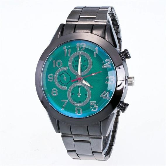 Relógio Moda Forma Aço Inoxidável Esporte Quartz