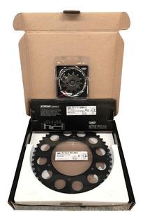 Kit Relação Honda Xr250 Tornado Trilha 12/48 Black Edition