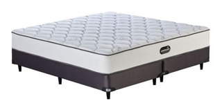 Conjunto Sommier King Size Deep Sleep Cama Simmons King Size