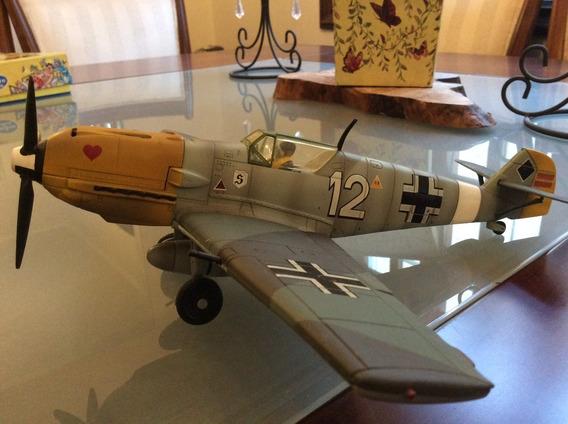 Avião Bf 109 Alemão 1/32