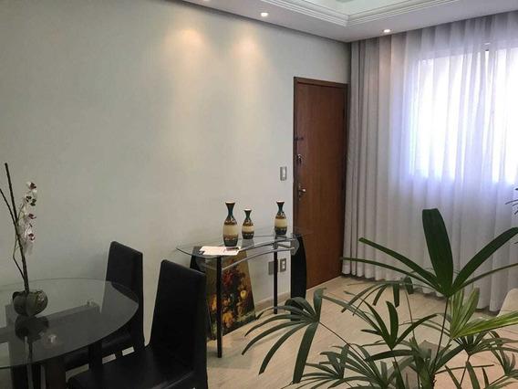 Apartamento Com Área Privativa Com 3 Quartos Para Comprar No Arvoredo Em Contagem/mg - 46050