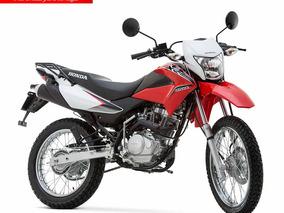 Moto Honda Xr150 L Año 2019 Color Blanco, Negro, Rojo