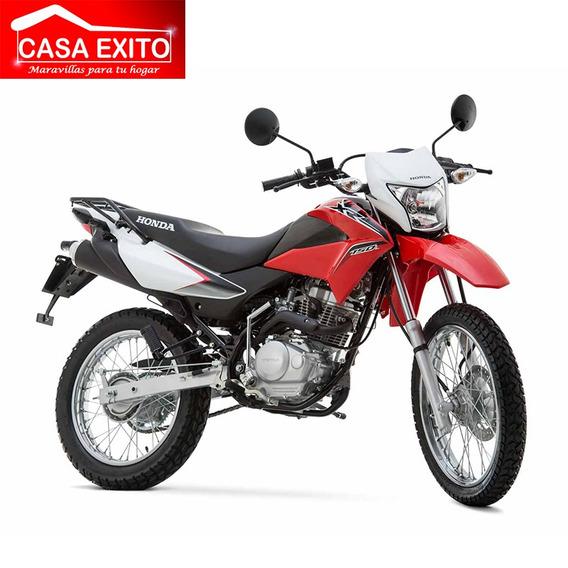 Moto Honda Xr150l Año 2020 Color Blanco, Negro, Rojo