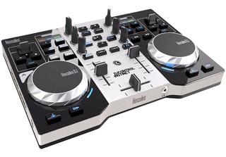 Consola Dj Hercules Instinct Controlador Con Placa De Sonido