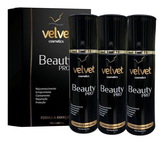 Velvet Beauty Pro- Elimina Rugas E Bigode Chinês 3 Unidades