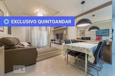 Apartamento No 5º Andar Mobiliado Com 1 Dormitório E 1 Garagem - Id: 892916733 - 216733